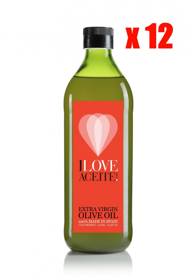 ILOVEACEITE RED LABEL 1 L | 33.81 fl oz  | PET (CASE 12 UNITS)