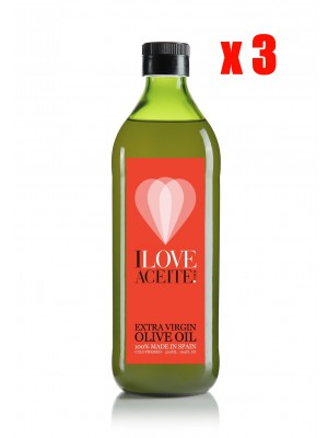 ILOVEACEITE RED LABEL 1 L | 33.81 fl oz  | PET (3 UNITS)