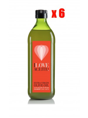 ILOVEACEITE RED LABEL 250 ML | 8.45 fl oz | PET (CASE 6 UNITS)