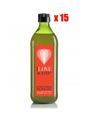 ILOVEACEITE RED  LABEL 500 ML | 16,9 fl oz | PET (CASE 15 UNITS)