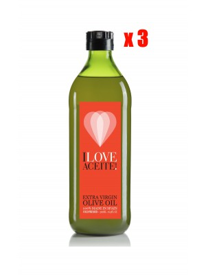 ILOVEACEITE RED  LABEL 500 ML | 16,9 fl oz | PET (CASE 3 UNITS)