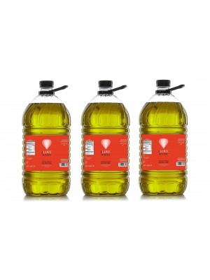 ILOVEACEITE RED LABEL (CASE 3 BOTTLES) 5 L ! 1.33 gal | PET