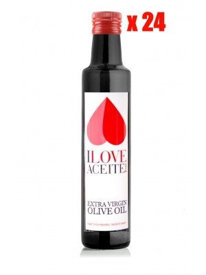ILOVEACEITE WHITE LABEL 250 ML | 8.45 fl oz GLASS | (CASE 24 UNITS)