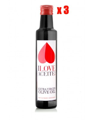 ILOVEACEITE WHITE LABEL 250 ML | 8.45 fl oz GLASS | (CASE 3 UNITS)