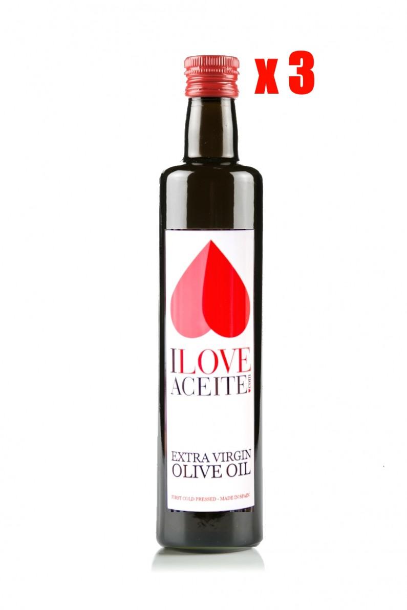 Iloveaceite White Label 500 Ml 16 9 Fl Oz Glass Case