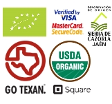 iloveaceite | secure shopping | DOP certified | organic farming | USDA | GO TEXAN
