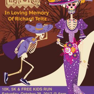 ILOVEACEITE sponsor of the 7th annual Dia de los Muertos Run
