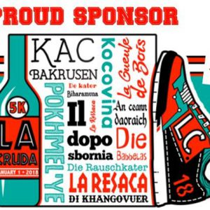 ILOVEACEITE proud sponsor of La Cruda 5k race