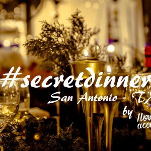 New edition of our #secretdinners