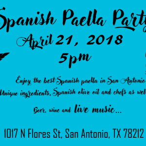 The best SPANISH PAELLA PARTY in San Antonio!